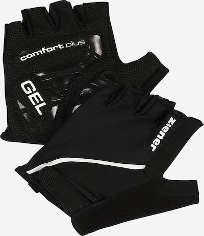 ZIENER Rękawiczki sportowe 'CELAL' w kolorze czarny / białym, Podgląd produktu