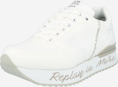 REPLAY Sneakers low 'HAMER' in Grey / Black / White, Item view