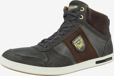 PANTOFOLA D'ORO Sneakers hoog in de kleur Bruin / Grijs, Productweergave