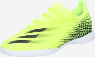 ADIDAS PERFORMANCE Soccer shoe 'X Ghosted.3' in neon green / black, Item view