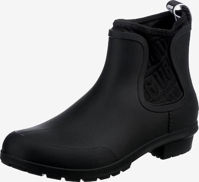 UGG Gummistiefel in schwarz, Produktansicht