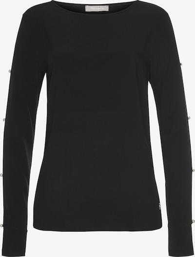TAMARIS Langarmbluse in schwarz, Produktansicht