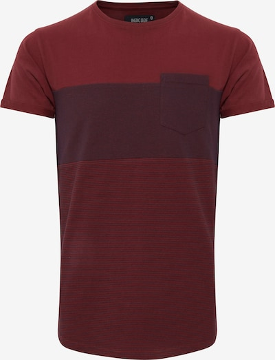 INDICODE JEANS T-Shirt in rot / bordeaux, Produktansicht