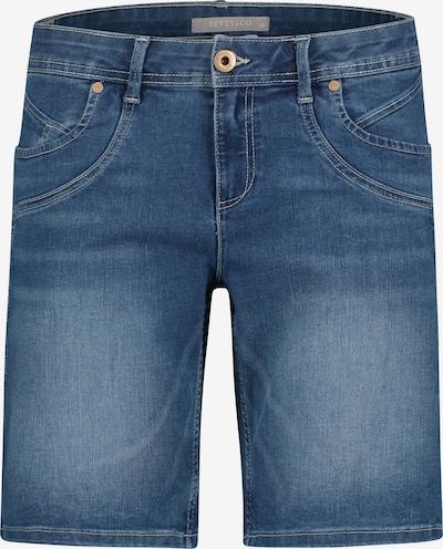 Betty & Co Pantalon en bleu denim, Vue avec produit