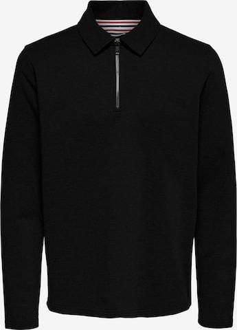 Only & Sons Sweatshirt 'Mac' in Schwarz