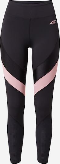 4F Pantalon de sport en rose / noir, Vue avec produit
