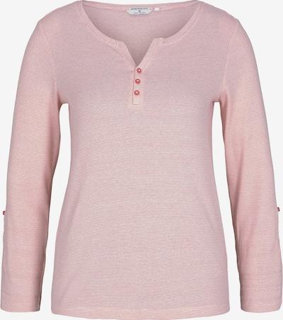 TOM TAILOR Majica u roza / bijela, Pregled proizvoda