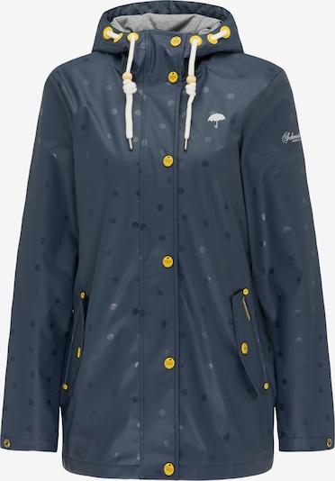 Schmuddelwedda Regenjacke in navy / weiß, Produktansicht