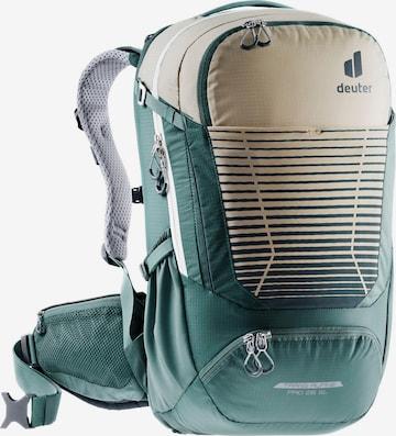 DEUTER Sports Backpack 'Trans Alpine Pro 26 SL' in Green