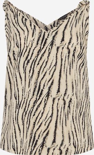 Dorothy Perkins Curve Top in Beige / Black, Item view