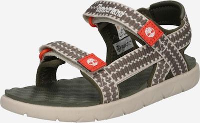 Pantofi deschiși 'Perkins Row' TIMBERLAND pe kaki / oliv / roșu deschis / alb, Vizualizare produs