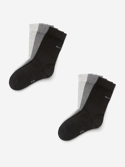 Marc O'Polo Bodywear Freizeitsocken ' 6-Pack Organic Cotton ' in grau / schwarz, Produktansicht