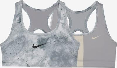 NIKE Sport onderkleding in de kleur Beige / Grijs / Zwart, Productweergave