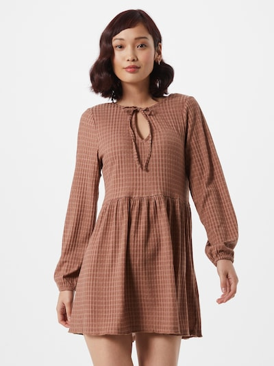 Cotton On Kleid 'Larissa' in beige / braun, Modelansicht