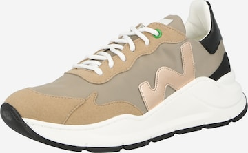 WOMSH Sneaker low i beige