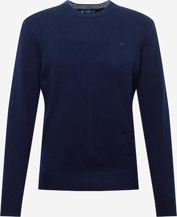 Hackett London Pullover in Blau