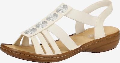 RIEKER Sandales à lanières en beige, Vue avec produit