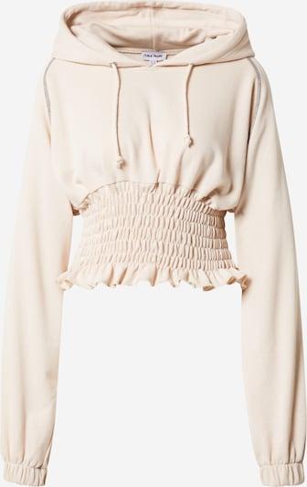 Public Desire Sweatshirt in beige, Produktansicht