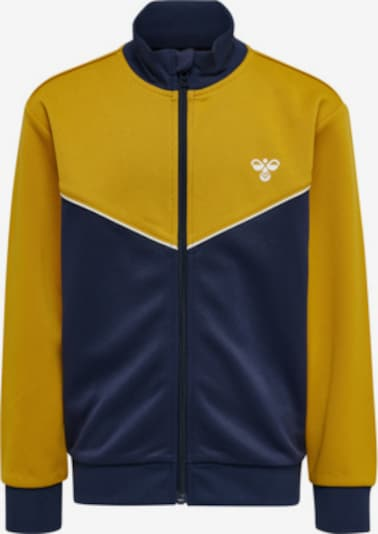 Hummel Trainingsanzug in gelb, Produktansicht