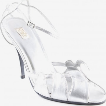 Buffalo London Sandals & High-Heeled Sandals in 41 in Silver