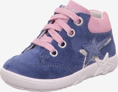 SUPERFIT Lauflernschuh 'STARLIGHT' in blau / rosa / silber, Produktansicht