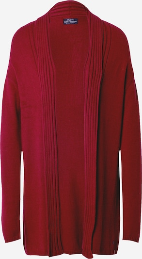 Funky Buddha Knit cardigan in wine red, Item view