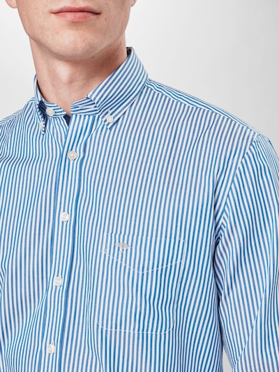 FYNCH-HATTON Koszula 'Summer' w kolorze podpalany niebieski / białym, Podgląd produktu