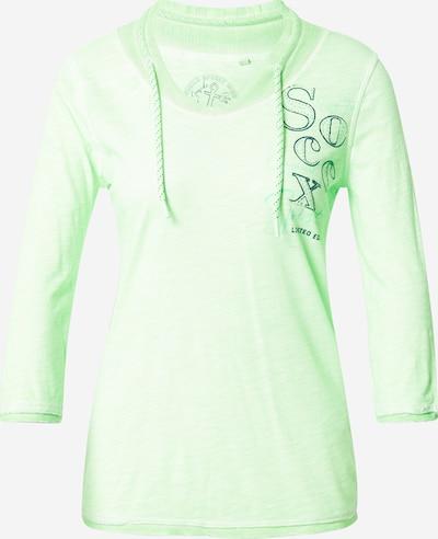 Soccx Shirt in dunkelblau / mint, Produktansicht