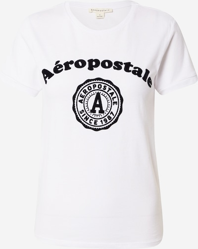 AÉROPOSTALE T-Krekls, krāsa - melns / balts, Preces skats
