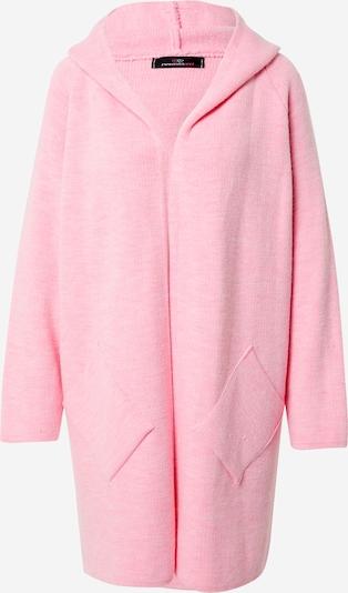 Zwillingsherz Manteau en tricot 'Annabell' en rose clair, Vue avec produit