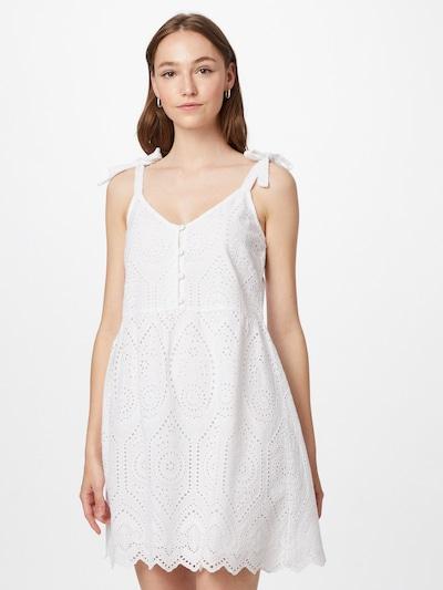 ABOUT YOU Haljina 'Alena' u bijela, Prikaz modela