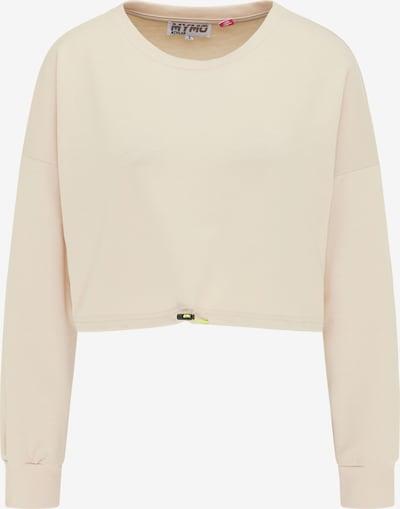 myMo ATHLSR Sportsweatshirt in beige, Produktansicht