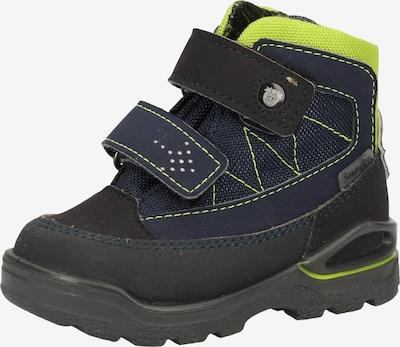 Pepino Stiefel in kobaltblau / limone / anthrazit, Produktansicht
