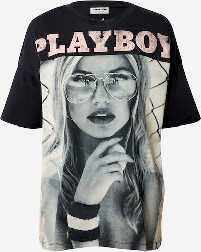 Noisy may Shirt 'Playboy' in mischfarben / schwarz, Produktansicht