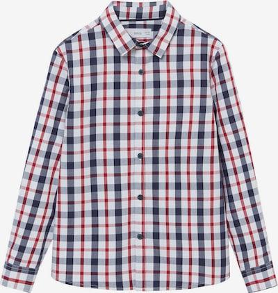 MANGO KIDS Hemd 'CHECKS8' in navy / rot / weiß, Produktansicht