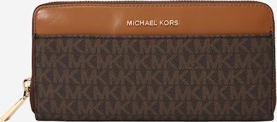 MICHAEL Michael Kors Tegnebog i karamel / mørkebrun, Produktvisning