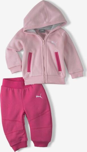 PUMA Survêtement 'CN' en rose / rose clair / blanc, Vue avec produit