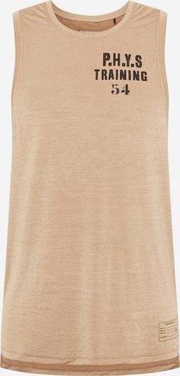 Superdry Koszulka funkcyjna w kolorze jasny beż / czarnym, Podgląd produktu