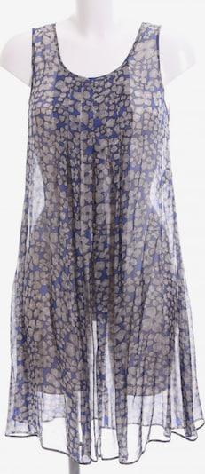 Marella schulterfreies Kleid in S in blau / grau / schwarz: Frontalansicht