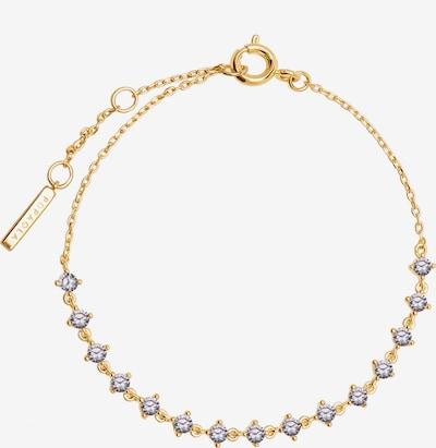 P D PAOLA Armband 'Victoria' in gold / flieder, Produktansicht