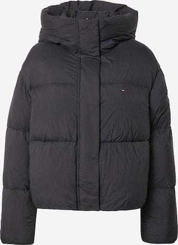 TOMMY HILFIGER Zimná bunda - Čierna
