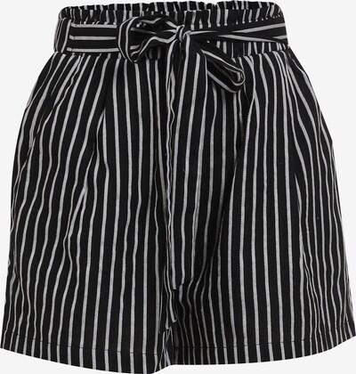 MYMO Pantalon en noir / blanc, Vue avec produit