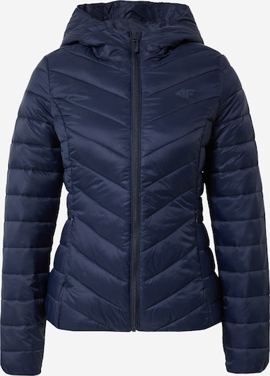 4F Sport-Jacke in dunkelblau, Produktansicht