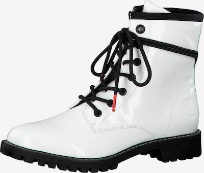 s.Oliver Stiefelette in schwarz / weiß, Produktansicht