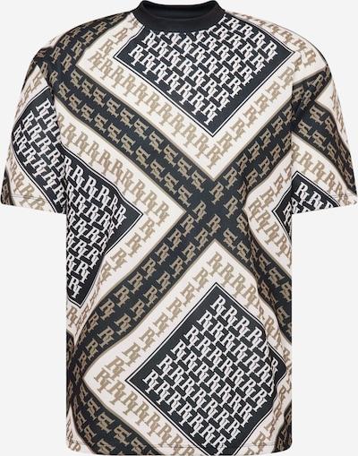 River Island T-Shirt in taupe / schwarz / weiß, Produktansicht