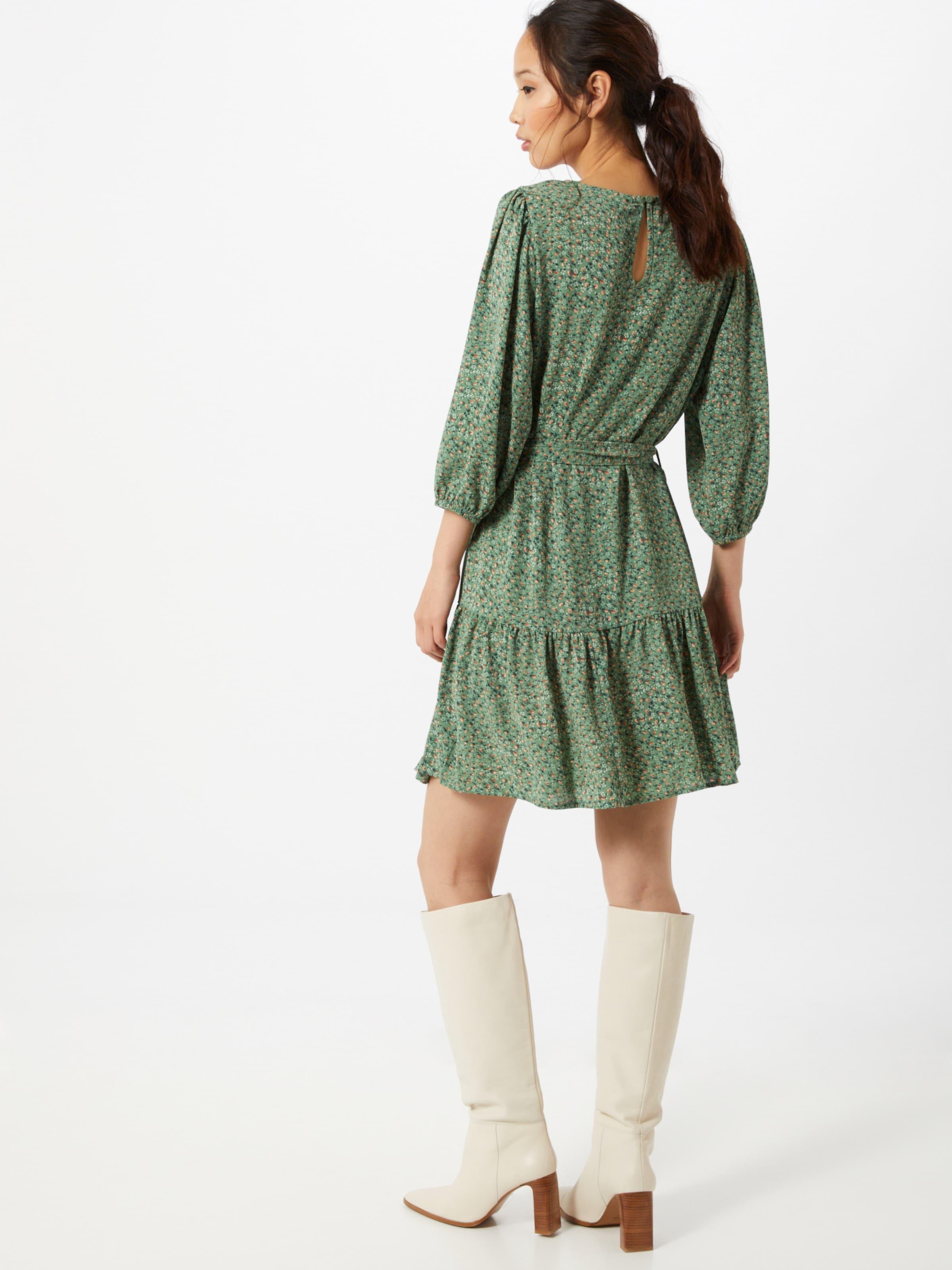 JACQUELINE de YONG Klänning 'Piper' i grön / blandade färger