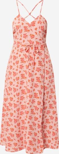 Fashion Union Vasaras kleita 'SWOON' oranžs / rožkrāsas / vecrozā, Preces skats