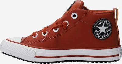 CONVERSE Sneaker in orangerot / schwarz / weiß, Produktansicht