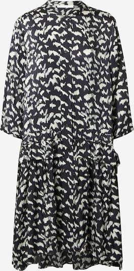 Rochie tip bluză 'C_Dicea' BOSS pe negru / alb, Vizualizare produs