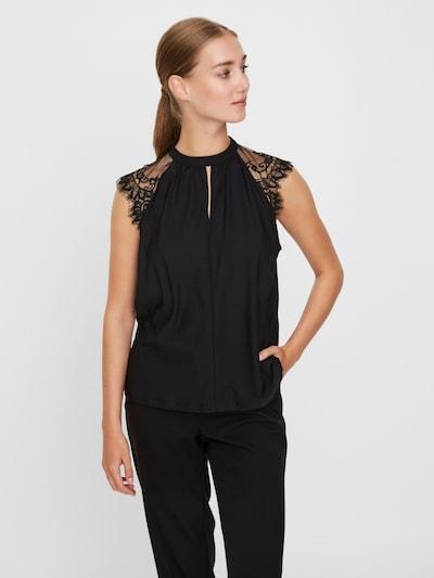VERO MODA Bluse 'Milla' in schwarz, Modelansicht